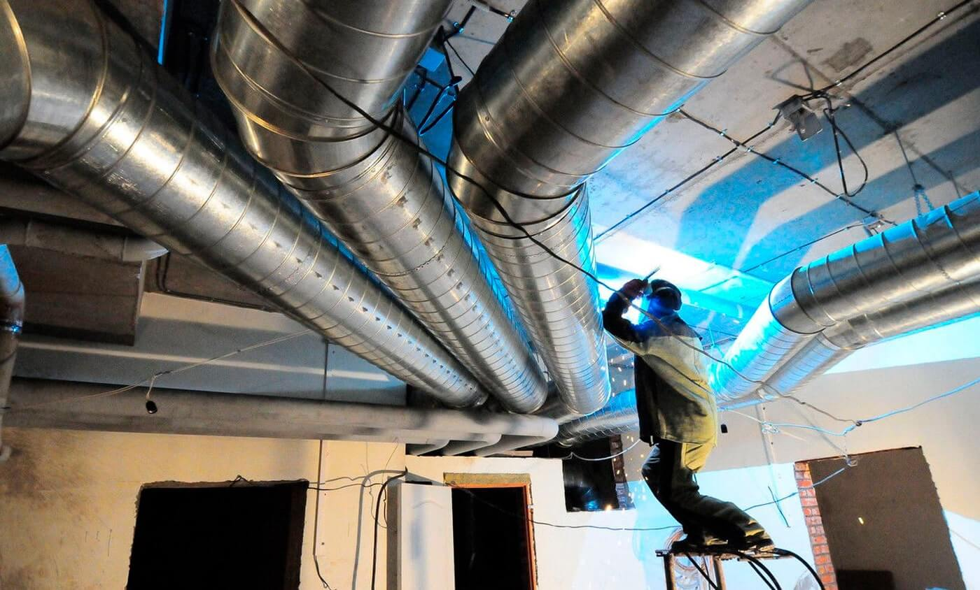 Монтаж систем вентиляції і кондиціонування