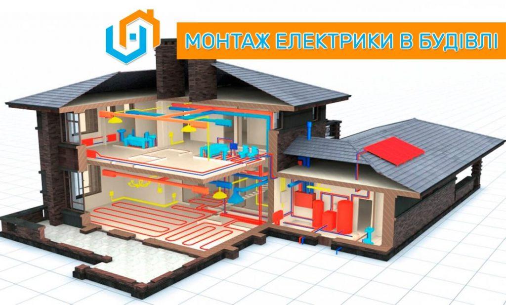 Монтаж електромережі, монтаж системи електропостачання, електротехнічні роботи Рівне